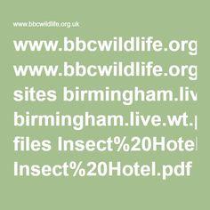 www.bbcwildlife.org.uk sites birmingham.live.wt.precedenthost.co.uk files Insect%20Hotel.pdf