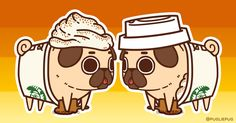 How do you like your Pugkin Spice Latte? Normal or extra whip?