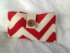 Small Chevron Clutch by BriscoeDesigns on Etsy, $8.00
