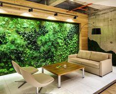 Deloitte HQ - Flowerbox Dikey Bahçe Tasarımı