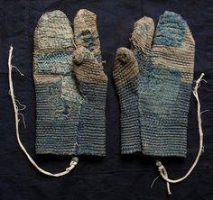 Tebukuro vintage Japanese gloves/mittens