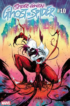 Symbiote Spider Gwen Comic Issue 10 Ghost Spider Limited Variant Modern Age First Print Venom Comics, Marvel Comics Art, Marvel Heroes, Marvel Venom, Spider Gwen Venom, Spider Art, Spider Carnage, Spider Verse, Marvel Comic Character