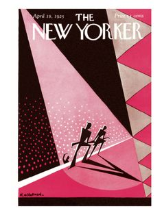 The New Yorker Cover - April 18, 1925 H.O. Hofman