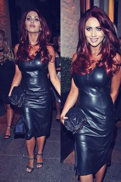 Amy Childs arrives at Sugar Hut in Brentwood for their 10th Anniversary celebrations on August 23, 2014 in London, England.