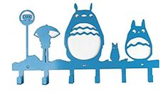 Amazon.com: Wander Agio Animal Cat Girl Wall Mounted Bag Hanger Coat Rack Clothing Originality Hooks Green: Office Products