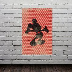Mickey Mouse Inspired Silhouette on Chevron Background: 11X17 Art Print, With Heart Studios - Disney, Nursery, Gift, Poster, Vintage. $25.00, via Etsy. Disney Baby Rooms, Disney Nursery, Baby Disney, Nursery Ideas, Room Ideas, Mickey Mouse Art, Mickey Party, Poster Vintage, Kids Decor