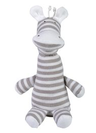 This one of a kind Zebra stuffed animal is made with 100% Organic Cotton and eco-friendly materials. It is super soft and is a must have for any collection! Get yours today at One I Love!