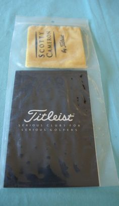f582b13ce3 Scotty Cameron by Titleist Care Kit for Blued Putter Series-Silicone Cloth