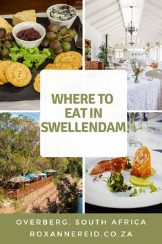 Want to know where to eat in Swellendam in the Overberg, South Africa – gateway to the Garden Route? Here are some of the Swellendam restaurants, from fine dining to coffee shops. They include the Old Gaol restaurant, Field All About Africa, Coffee Shops, Africa Travel, Conservatory, Fine Dining, Fork, South Africa, Restaurants, Country