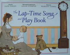 Lap-Time Song and Play Book - Parent and Children / Infant Playtime Activity Book by OfftheShelf2015 on Etsy
