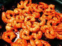 Pam's Midwest Kitchen Korner: Garlicky BBQ Shrimp