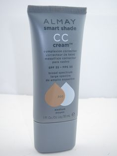 Just discovered this - it. is. brilliant. Nice medium/lite coverage, blurs redness and leaves a soft dewy finish. All for $8. /KT Almay Smart Shade CC Cream