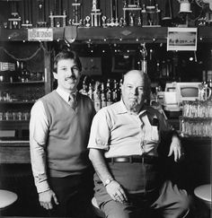 Home Run Inn Founder and Son