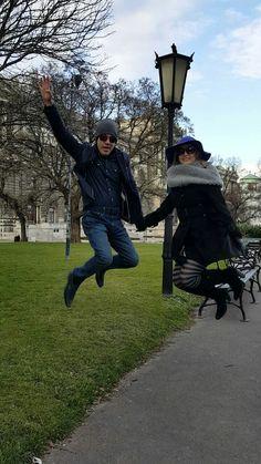 #senhoraesenhorgaby Pastor Eliel Gaby e Andreia Gaby em Viena