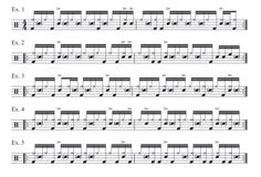 chad smith lesson Drum Sheet Music, Drums Sheet, Drum Lessons, Music Lessons, Drum Magazine, Drum Accessories, Drums Beats, Drummers, Smoking Weed