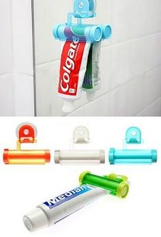 Avoid the fuss and hassle of trying to get the last dregs of the toothpaste out the tube with this handy bathroom gadget!