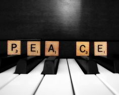 music brings peace like two peas in a pod ~ ღ