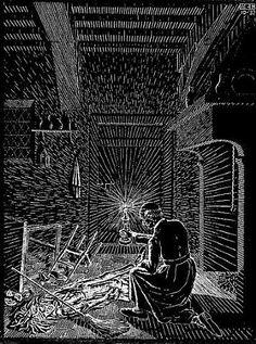 M. C. Escher, Scholastica (Bad Dream)