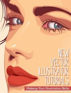 Adobe Illustrator // 26 New Vector Illustrator Tutorials to Improve Your Drawing Illustration Skills Illustrator Design, Adobe Illustrator Tutorials, Photoshop Illustrator, Graphic Design Tutorials, Graphic Design Inspiration, Web Design, Vector Design, Design Websites, Design Resume