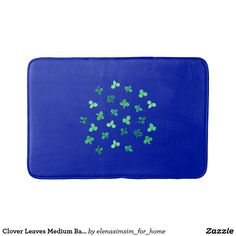 Clover Leaves Medium Bath Mat