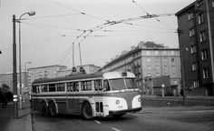 Oh, nostalgia! T400 trolleybus at the Belocerkevska terminal, where I boarded every morning for 2 years to go to school. Sadly, trolleybuses no longer exist in Prague.