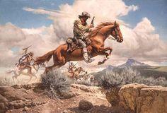 Figura mitica del Ponny Express