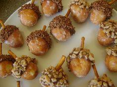 Acorn Doughtnut Holes
