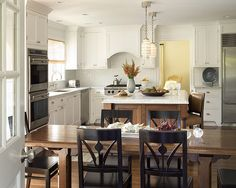 White and Brown Kitchen_1 | Flickr - Photo Sharing!