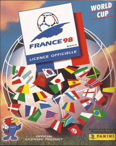 Panini World Cup France 98 (Ex Album) 35 Stickers ~ Players & Team Grp & Emblems Fifa World Cup France, Fifa Women's World Cup, America Album, 1998 World Cup, Old School Toys, Football Stickers, World Cup Final, Album Covers, Panini