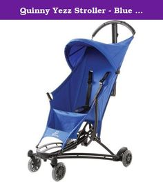 Quinny Yezz Stroller - Blue Track. YezzTM The travel hero The Quinny Yezz was featured on the Katie Couric show for her Big Baby Shower episode! Rosie Pope, maternity clothing designer and star of Bravo's Pregnant in Heels introduced the top products for 2013 and the Yezz was included. For all the fun details and to watch the clip click here. The Quinny Yezz stroller gives you the freedom to get to your destination with ease and in style. The ultra lightweight IXEF® high performance…