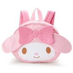 My Melody Little Girls Kids Cartoon Backpack Shoulder Bag Kindergarten Bookbag Kawaii Bags, Baby Princess, My Melody, Girl Backpacks, Cartoon Kids, Sanrio, Leather Shoulder Bag, Pu Leather, Fashion Backpack