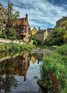 Dean village, Edinburgh, Scotland