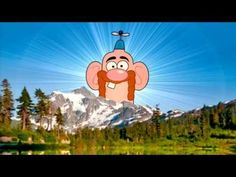 """Cartoon Network Uncle Grandpa Sign-On """"Good Morning"""""""