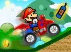 Mario Bros ha acquistato una nuova moto e ha deciso di sfruttare il weekend per provarla. Aiutalo a recuperare le monete nel tragitto. Usa le frecce direzionali.