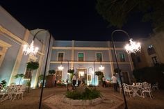 jardin con pinceladas del neoclasicismo del XIX
