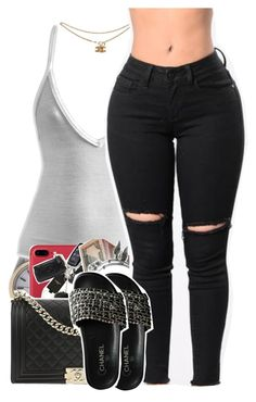 """Untitled #2086"" by toniiiiiiiiiiiiiii ❤ liked on Polyvore featuring Rolex, Alex and Ani and Chanel"