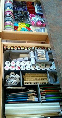 Cake Decorating Supplies In Craftsman Toolbox