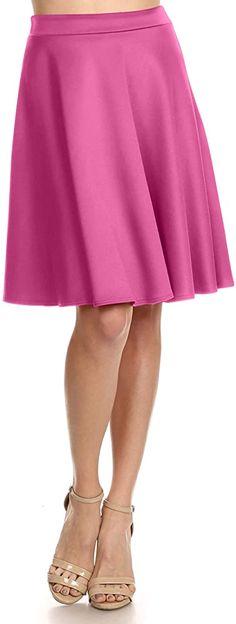 Halloween Mickey Pumpkins Disney Inspired Skater Skirt XS-3XL Stretch Flared Sho
