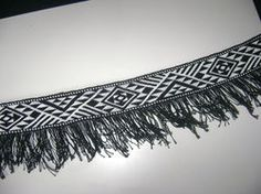 Made by me Taniko woven. Wide enough to be a belt but ended up being a top border for a cloak.