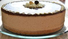 tarta-mousse-de-turron Pie Recipes, Sweet Recipes, Pasta Recipes, Nougat Cake, Torte Cake, Chocolate Ganache, Chocolate Blanco, Let Them Eat Cake, Cake Designs
