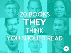20 Books They Think You Should Read