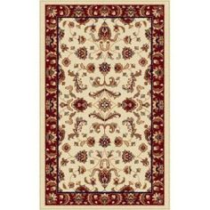 Bliss Rugs Sarah Transitional Area Rug, Beige