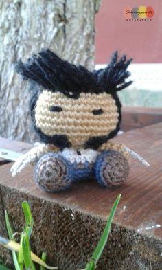 Lobezno amigurmi / Wolverine www.soniaypuntocreaciones.com