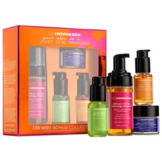 3 Little Wonders™ Bonus Collection - Ole Henriksen | Sephora Costd: $70 Worth: $97.33 That's 28.12% off. There's also a version (the non-bonus version) without the cleanser, but definitely buy this one while it lasts, because they cost the same.