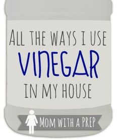All the Ways I Use Vinegar in My House