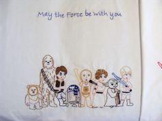 Star Wars Crafts - Star Wars Embroidery