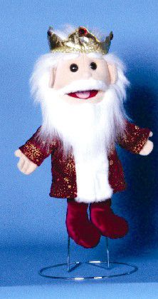 Meet his majesty - the King! This king puppet has an easy-to-use mouth that allows for wonderful facial expressions! Comes completely dressed as shown. People Puppets, Glove Puppets, Class Activities, Christmas Ornaments, Holiday Decor, King, Store, Products, Puppets