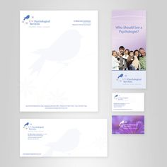 KW Psychological Services by Ben Haskins, via Behance