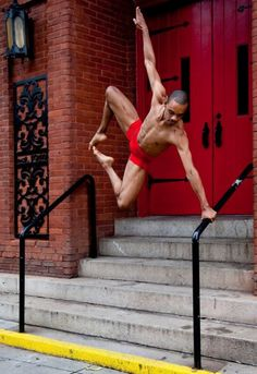 Acts of Light : Modern Dance, male dancer