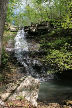 Native American Falls - via Exploring NW Arkansas